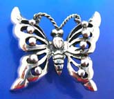 925. sterling silver butterfly pendant